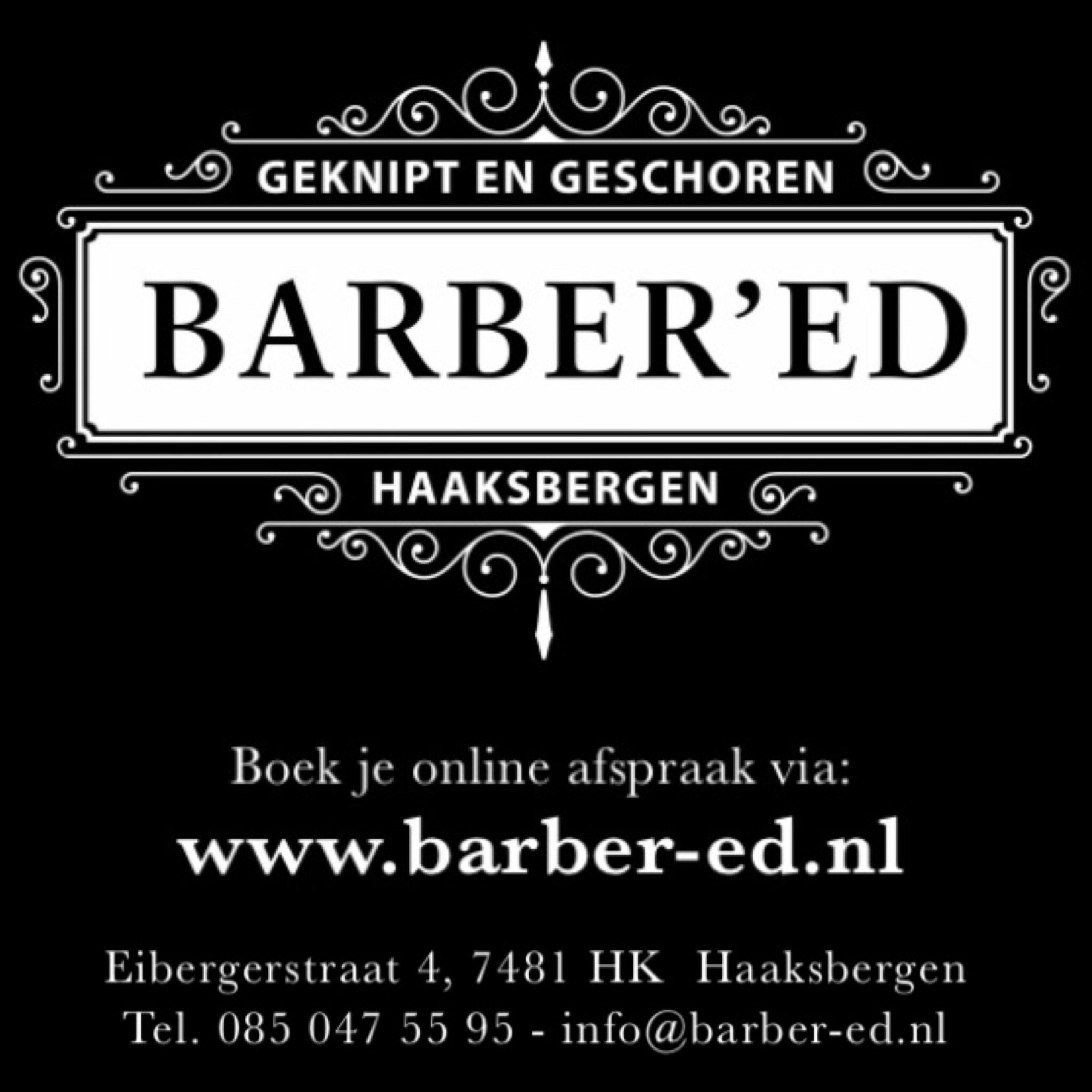 Kapper Haaksbergen - Kapsalon Barber'Ed