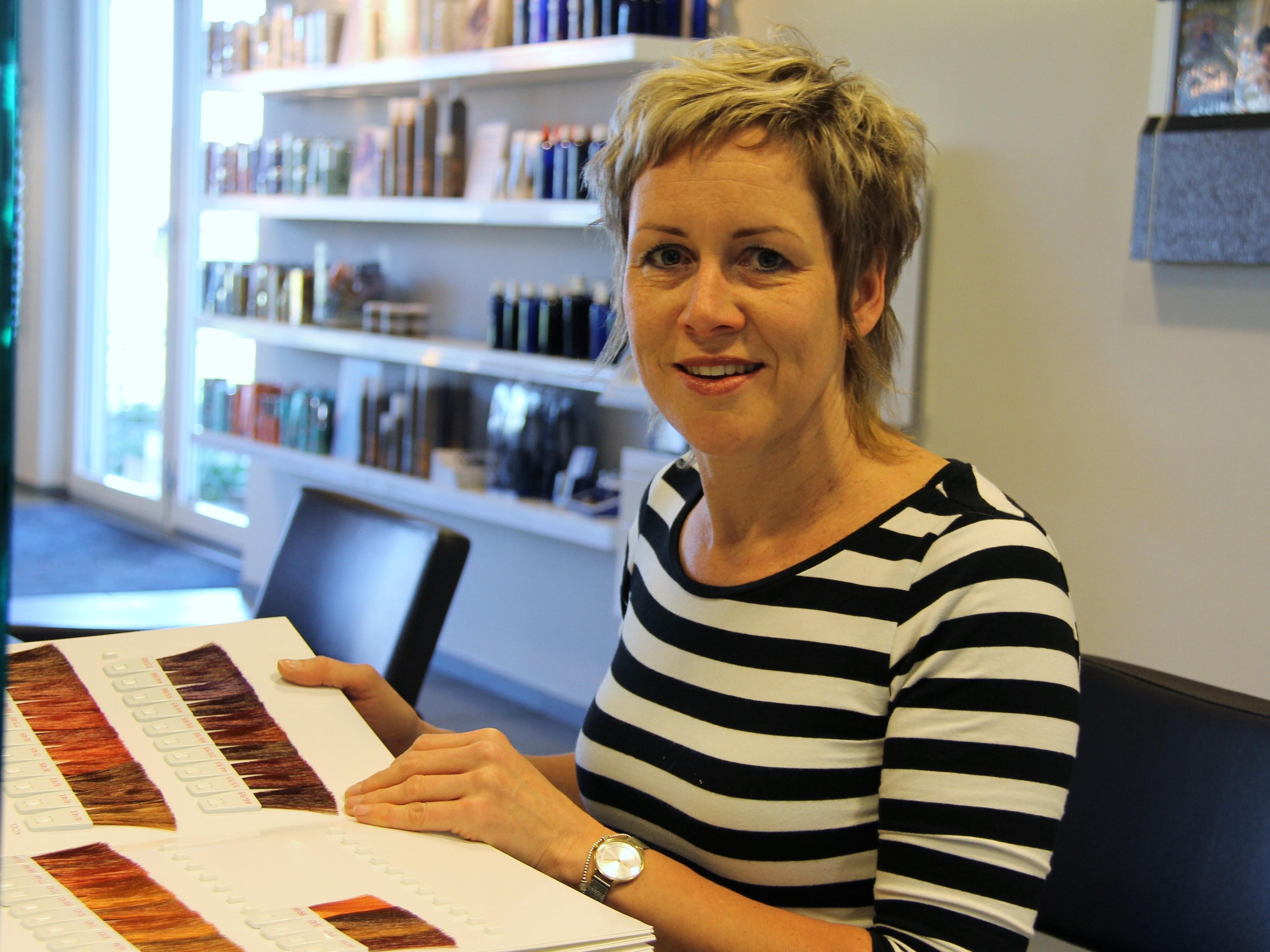Suzanne - Kapper bij Salon Toine Overloon