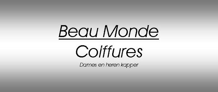 Kapper Den Haag - Kapsalon Beau Monde Coiffures