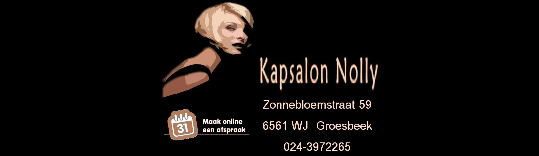 Kapper Groesbeek - Kapsalon Kapsalon Nolly