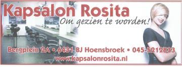 Kapper Hoensbroek - Kapsalon Rosita