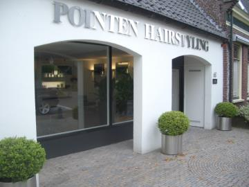 Kapper Huizen - Kapsalon POINTEN HAIRSTYLING AVEDA HAIR AND LIFESTYLE SALON
