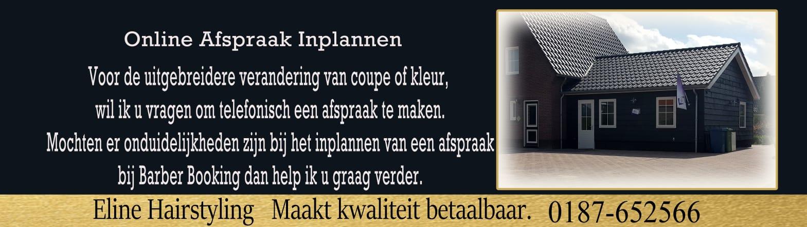 Kapper Oude Tonge - Kapsalon Eline Hairstyling